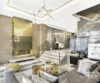 120平米复式现代简约风格客厅设计图