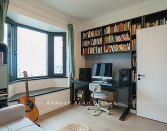 90平米四室两厅田园风格书房装修图片大全