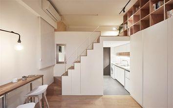 80平米复式日式风格楼梯设计图