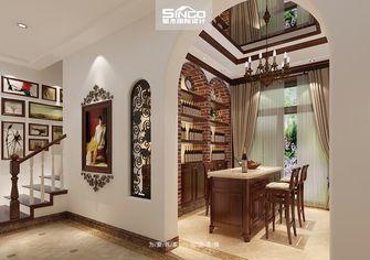 20万以上140平米别墅美式风格楼梯图片