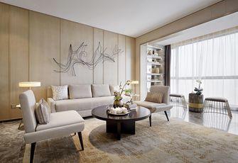 70平米三室一厅现代简约风格客厅图片