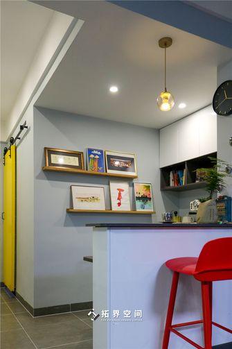 90平米三室三厅混搭风格餐厅图片