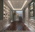 140平米别墅英伦风格楼梯间图片