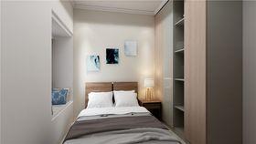 90平米三室两厅现代简约风格卧室装修效果图