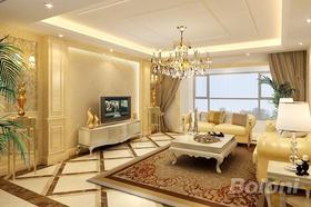 140平米復式歐式風格客廳裝修效果圖