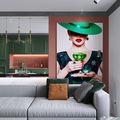 80平米三室一厅宜家风格客厅设计图