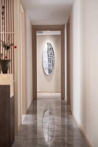 140平米三室一厅日式风格走廊图片