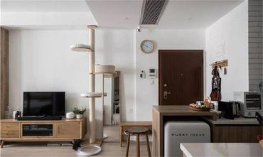 60平米公寓日式风格玄关效果图