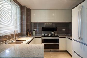 70平米现代简约风格厨房橱柜图片