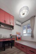 70平米三室两厅宜家风格儿童房装修案例