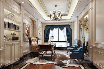 140平米四室一厅欧式风格书房效果图