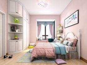 120平米三室兩廳中式風格臥室設計圖