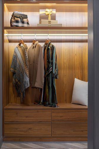 130平米三室两厅现代简约风格衣帽间设计图