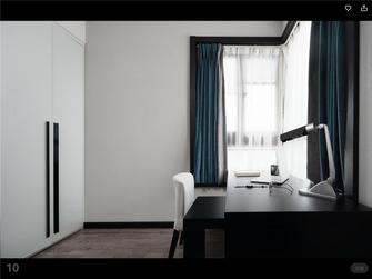 130平米三室一厅其他风格书房图