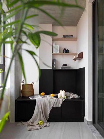 120平米三室一厅日式风格阳台图片