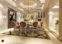 140平米四室四厅欧式风格餐厅图片