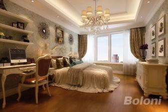 140平米四室两厅新古典风格卧室图