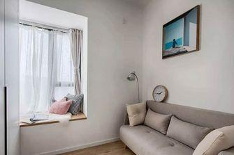 60平米一居室北欧风格衣帽间欣赏图