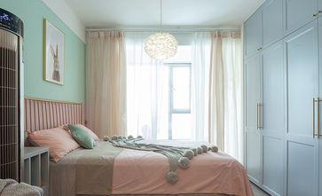 90平米三田园风格卧室装修图片大全
