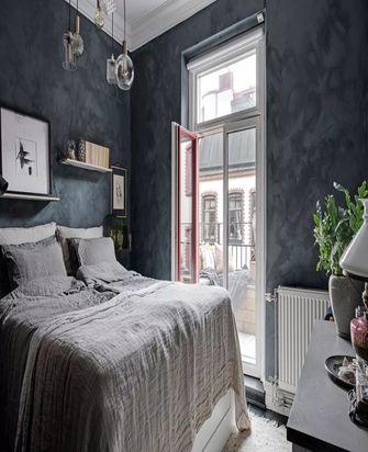 经济型70平米一居室美式风格卧室装修效果图