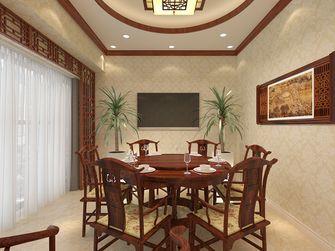 富裕型50平米公寓中式风格客厅图
