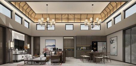130平米三室两厅新古典风格客厅装修效果图