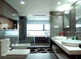 140平米四室两厅东南亚风格卫生间装修案例