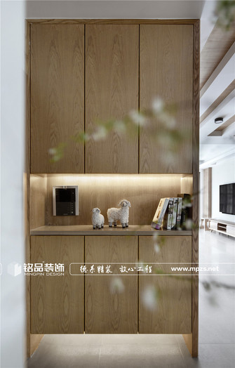 140平米别墅日式风格玄关图
