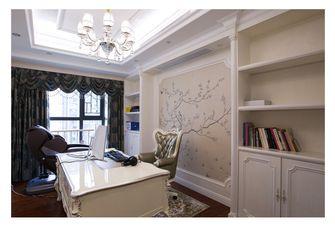 20万以上140平米四室三厅法式风格书房效果图