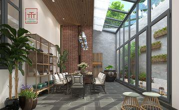 140平米四室两厅现代简约风格阳光房设计图