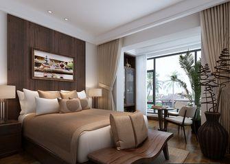 10-15万110平米三室两厅东南亚风格卧室欣赏图