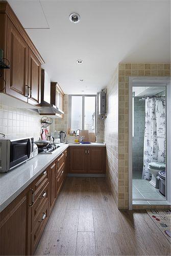 50平米一居室美式风格厨房设计图