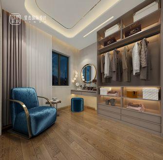 140平米别墅现代简约风格衣帽间图片
