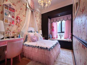 130平米三室一厅新古典风格卧室设计图
