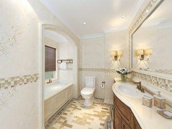 120平米三室两厅田园风格卫生间装修图片大全