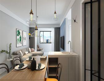 80平米三室两厅现代简约风格客厅欣赏图