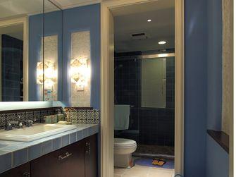 50平米一室两厅地中海风格卫生间欣赏图