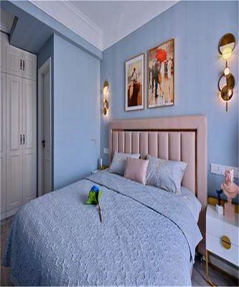 90平米四室两厅混搭风格卧室装修效果图