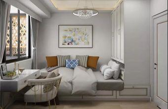 70平米三室一厅现代简约风格书房图片大全