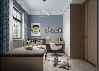 120平米三室两厅现代简约风格儿童房欣赏图