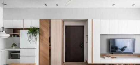 90平米一室两厅北欧风格客厅装修图片大全