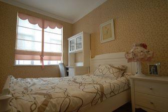 5-10万130平米三室三厅田园风格卧室设计图