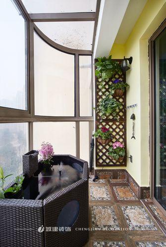 140平米四室两厅地中海风格阳台装修案例