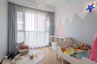 120平米三室一厅现代简约风格儿童房欣赏图