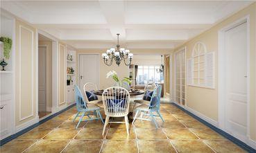 140平米四室两厅田园风格餐厅图