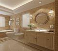 90平米欧式风格卫生间背景墙设计图