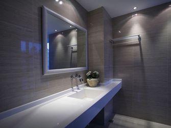 100平米三室一厅田园风格卫生间装修案例