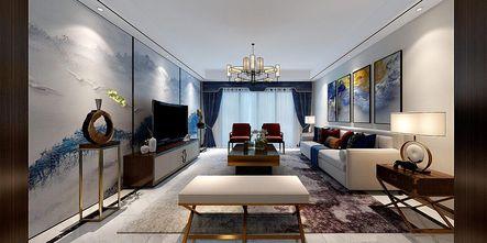 140平米四室一厅中式风格客厅效果图