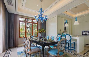 10-15万120平米三室两厅东南亚风格餐厅装修效果图