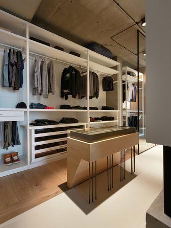 70平米公寓北欧风格衣帽间图